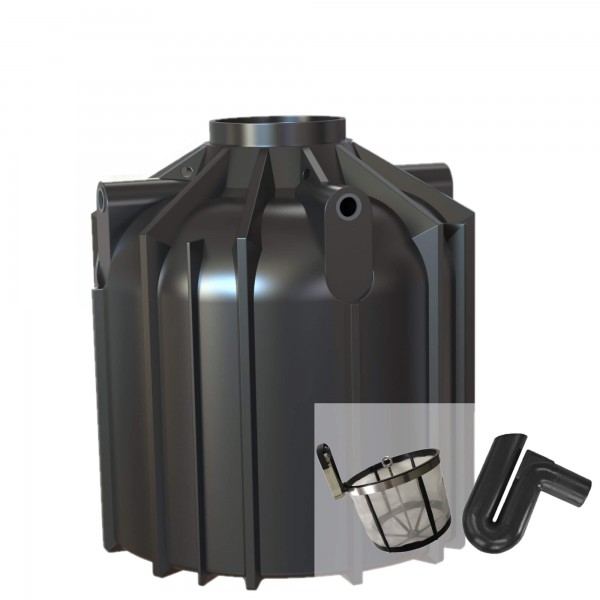 Gartenzisterne Globo-Line 8300 Liter mit Filterset zur Selbstmontage