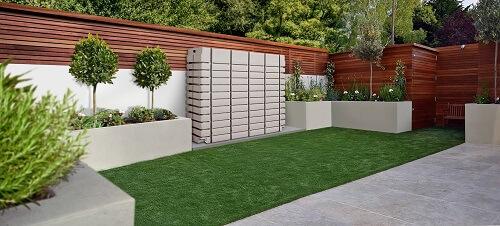Regenwassertank ThinTank für die Terrasse