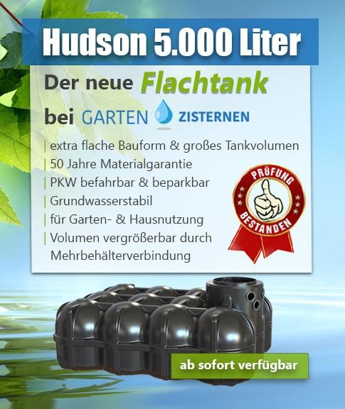Flachtank 5000 Liter - der neue Hudson