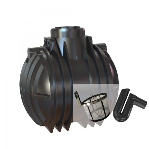 Gartenanlage 5300 Liter mit Basic Filterset und Technik Paket