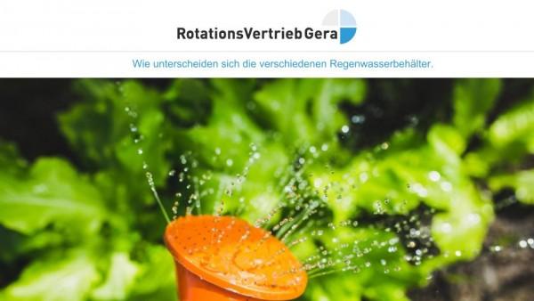 Regenwasserbehalter
