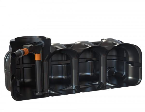 Flachtank Hudson Hauswasseranlage mit Hausfilter