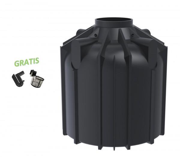 Gartenzisterne Globo-Line 8300 Liter mit Filterset Gratis