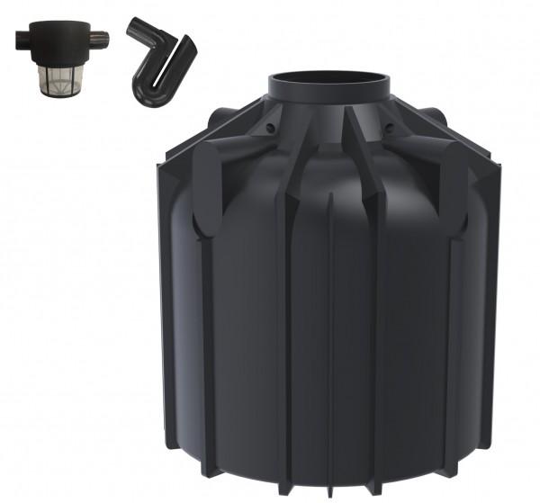 Gartenset Globoline 8300 Liter mit Filterset Comfort und Überlaufsiphon