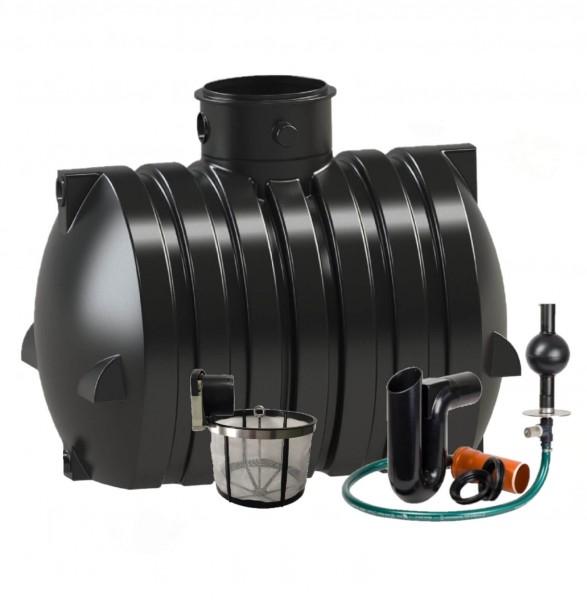 Retentionstank-Set 4000 Liter zum Selbsteinbau