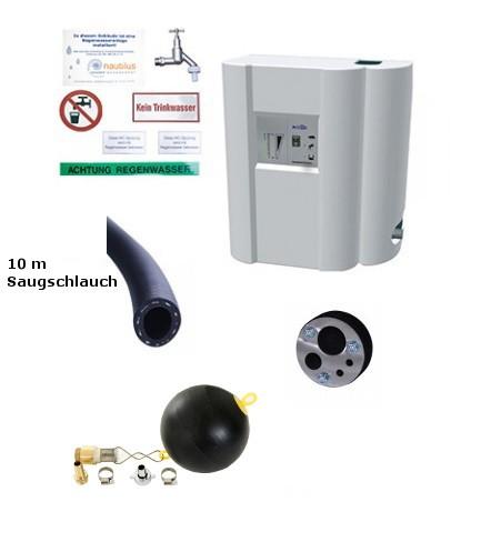 Hauswasserwerk Rainmaster Eco 10 Set-10m Schlauch