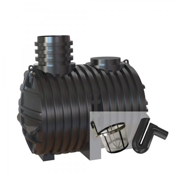 Gartenzisterne Eco-Line 5000 Liter mit Filterset zur Selbstmontage